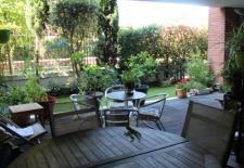 Appartement en rez de jardin avec vue exceptionnelle T5 161 M2 habitables terrasse et jardin garage parking climatisation